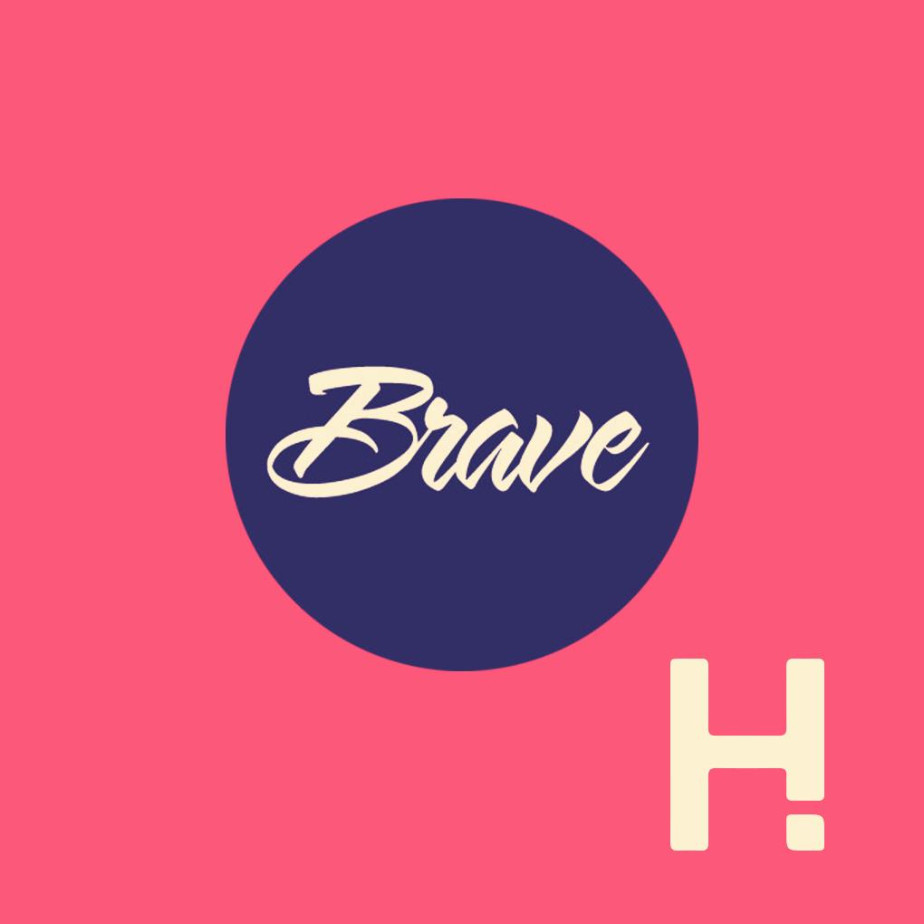 about me ABOUT ME BraveHeyHuman logo
